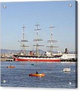 San Francisco Boats Acrylic Print