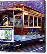 San Francisco Cable Car No. 17 Acrylic Print