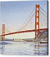 San Francisco California Golden Gate Bridge Acrylic Print