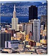 San Francisco Acrylic Print by Camille Lopez