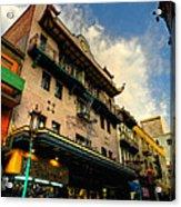 San Francisco - Chinatown 003 Acrylic Print by Lance Vaughn