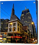 San Francisco - Chinatown 011 Acrylic Print by Lance Vaughn