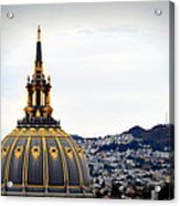San Francisco City Hall Acrylic Print
