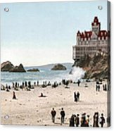 San Francisco Cliff House 1902 Acrylic Print