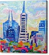 San Francisco Colors Acrylic Print