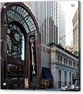 San Francisco Crocker Galleria - 5d20596 Acrylic Print by Wingsdomain Art and Photography