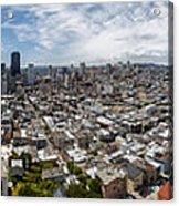 San Francisco Daytime Panoramic Acrylic Print
