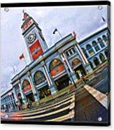 San Francisco Ferry Building Giants Decorations. Acrylic Print