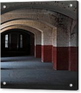 San Francisco Fort Point 5d21543 Acrylic Print by Wingsdomain Art and Photography