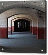 San Francisco Fort Point 5d21544 Acrylic Print by Wingsdomain Art and Photography