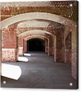 San Francisco Fort Point 5d21546 Acrylic Print by Wingsdomain Art and Photography