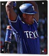 San Francisco Giants v Texas Rangers Acrylic Print