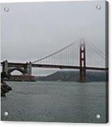 San Francisco - Golden Gate Bridge  Acrylic Print