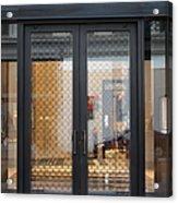 San Francisco Graff Store Doors - 5d20569 Acrylic Print by Wingsdomain Art and Photography