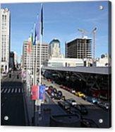 San Francisco Moscone Center And Skyline - 5d20511 Acrylic Print
