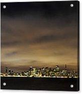 San Francisco Nightscape Acrylic Print