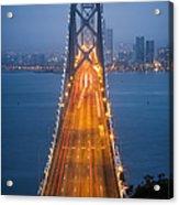 San Francisco - Oakland Bay Bridge Acrylic Print