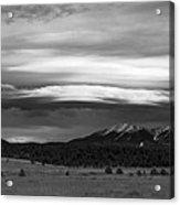 San Francisco Peaks From Williams Acrylic Print