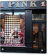 San Francisco Pink Storefront - 5d20565 Acrylic Print