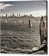San Francisco Sails Acrylic Print