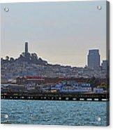 San Francisco Skyline -2 Acrylic Print