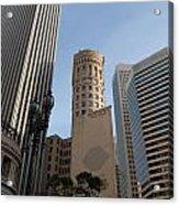 San Francisco Skysrappers Acrylic Print