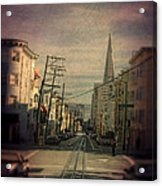 San Francisco Street Acrylic Print