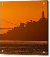 San Francisco Sunrise Acrylic Print