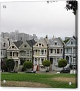 San Francisco - The Painted Ladies I Acrylic Print
