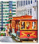 San Francisco Trams 6 Acrylic Print
