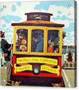 San Francisco Trolley Acrylic Print