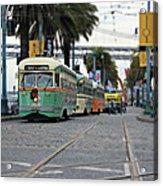 San Francisco Trolleys Acrylic Print