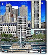 San Francisco Union Square 5d17938 Artwork Acrylic Print