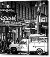 San Francisco Union Square Acrylic Print