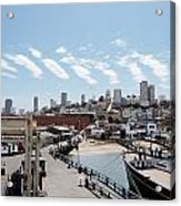 San Francisco Waterfront Acrylic Print