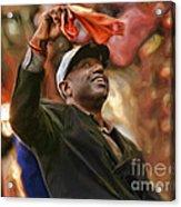 San Fransco Giants Barry Bonds Acrylic Print
