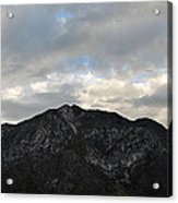 San Gabriel Mountains Evening Acrylic Print