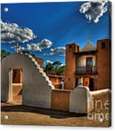 San Geronimo Church Taos Pueblo Acrylic Print