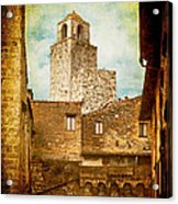 San Gimignano Italy Acrylic Print