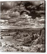 San Gimignano View Acrylic Print