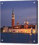 San Giorgio Maggiore Island Venice Italy Acrylic Print