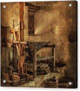 San Jose Mission Mill Acrylic Print