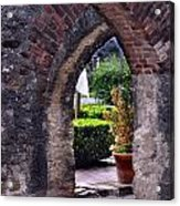 San Jose Mission View To The Past Acrylic Print