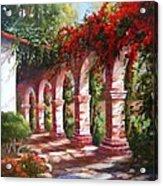 San Juan Capistrano Mission Acrylic Print