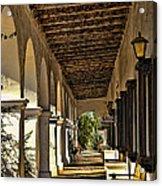 San Luis Rey Mission - California Acrylic Print