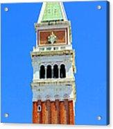 San Marco Campanile Acrylic Print