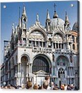 San Marco Square Acrylic Print