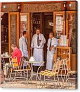 San Miguel - Waiting For Customers Acrylic Print