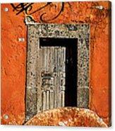 San Miguel Allende Door Acrylic Print