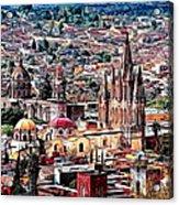San Miguel De Allende Acrylic Print